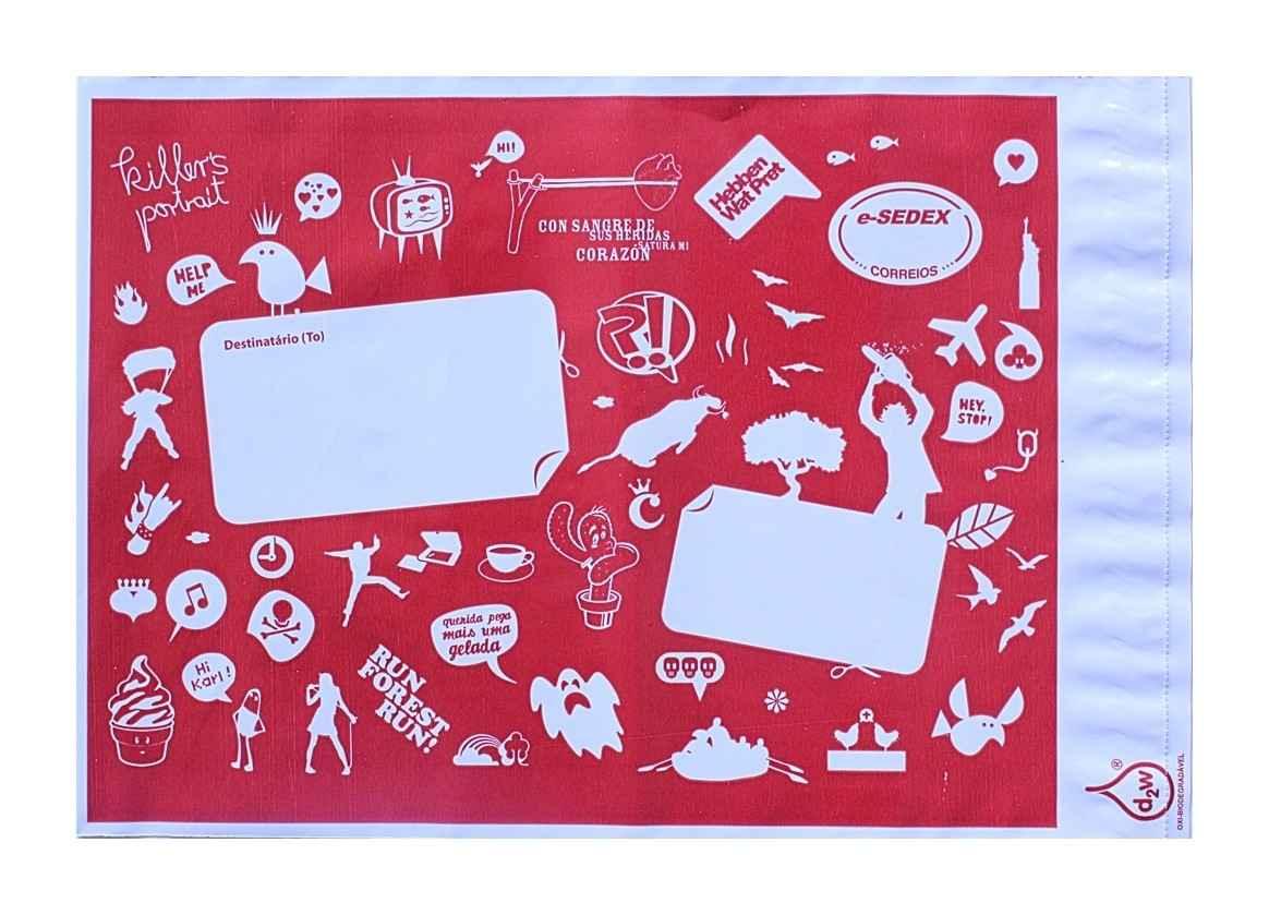 Comprar envelope de plástico correios