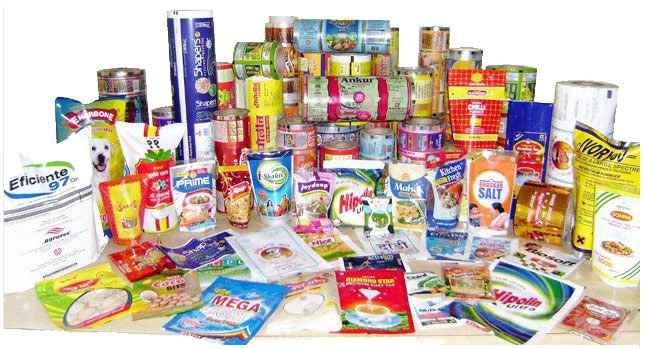 Embalagem plástica para alimento
