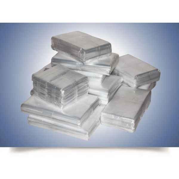 Embalagem plástica transparente para indústria