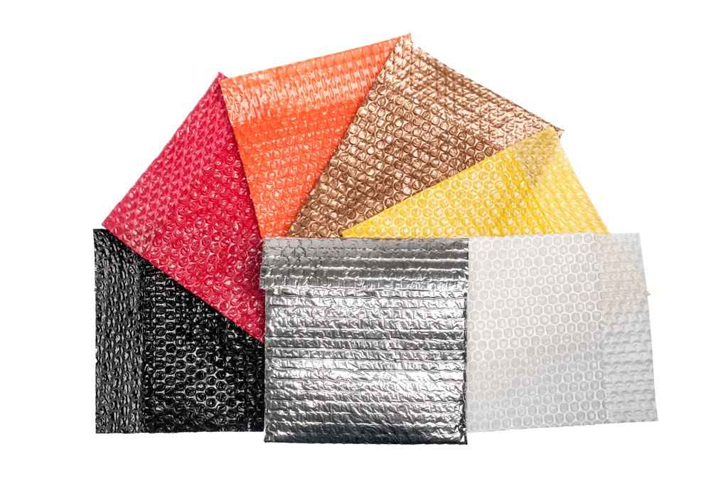 Embalagens envelopes bolha