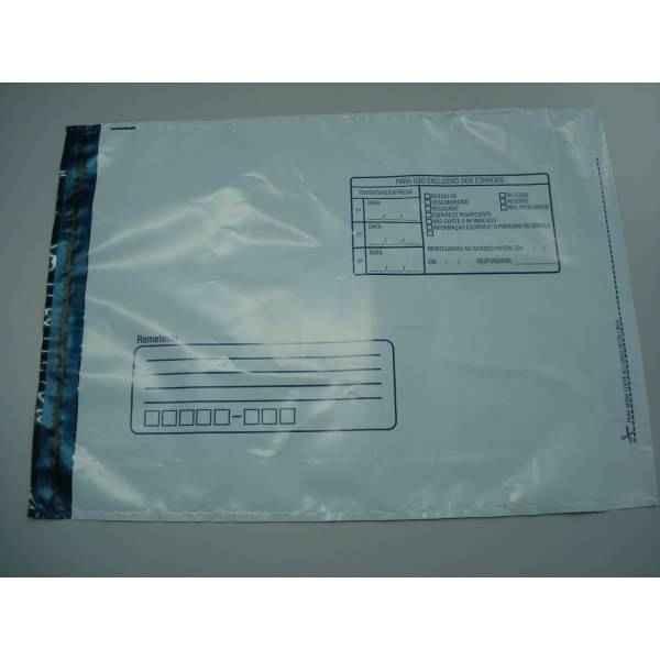 Envelope adesivado de correio personalizado