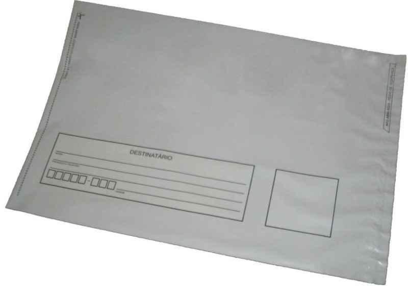 Envelope adesivo para correspondências de empresas