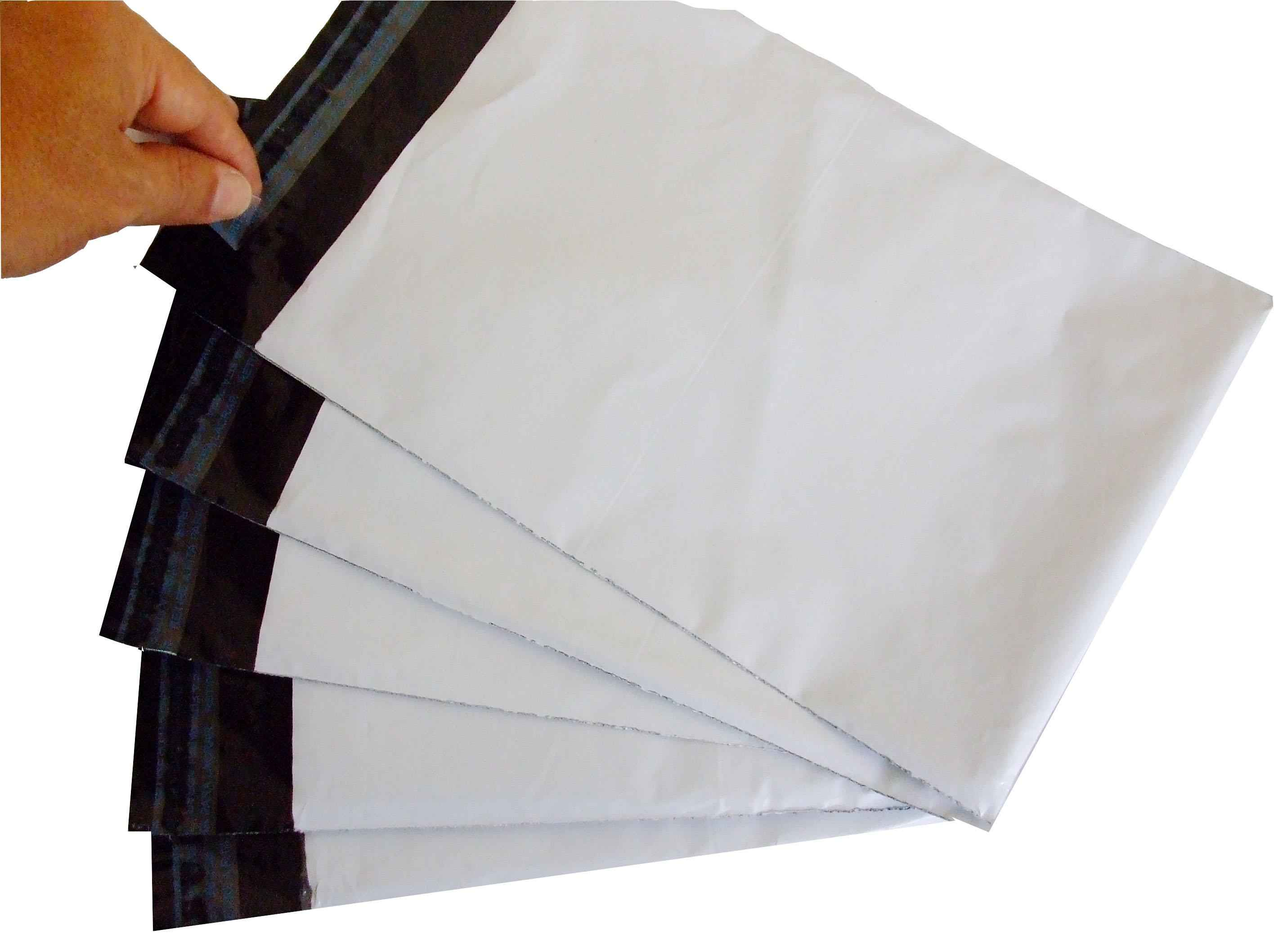 Envelope adesivo personalizado em plástico