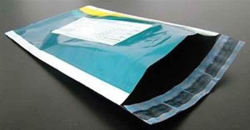 Envelope adesivo personalizados