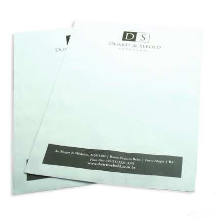 Envelope bolha personalizado