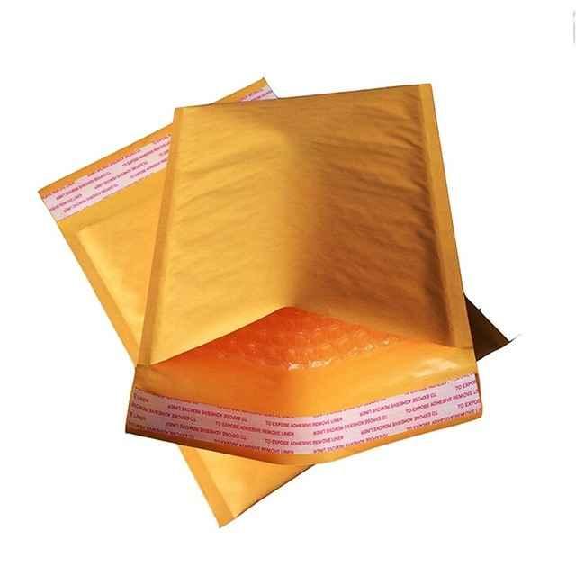 Envelope bolha tamanhos