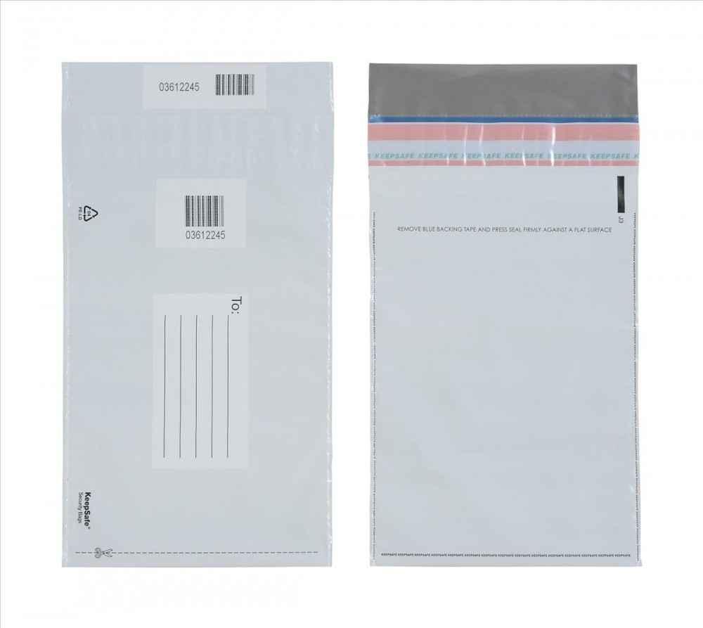 Envelope coextrusado com lacre segurança