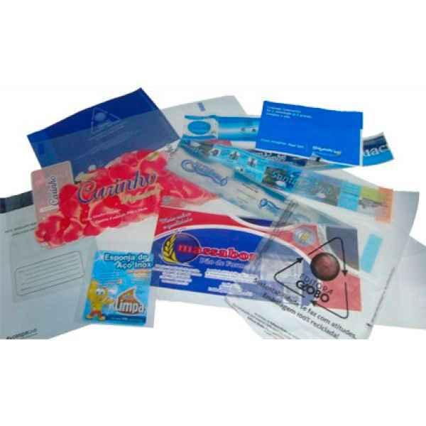 Envelope com aba adesiva impresso