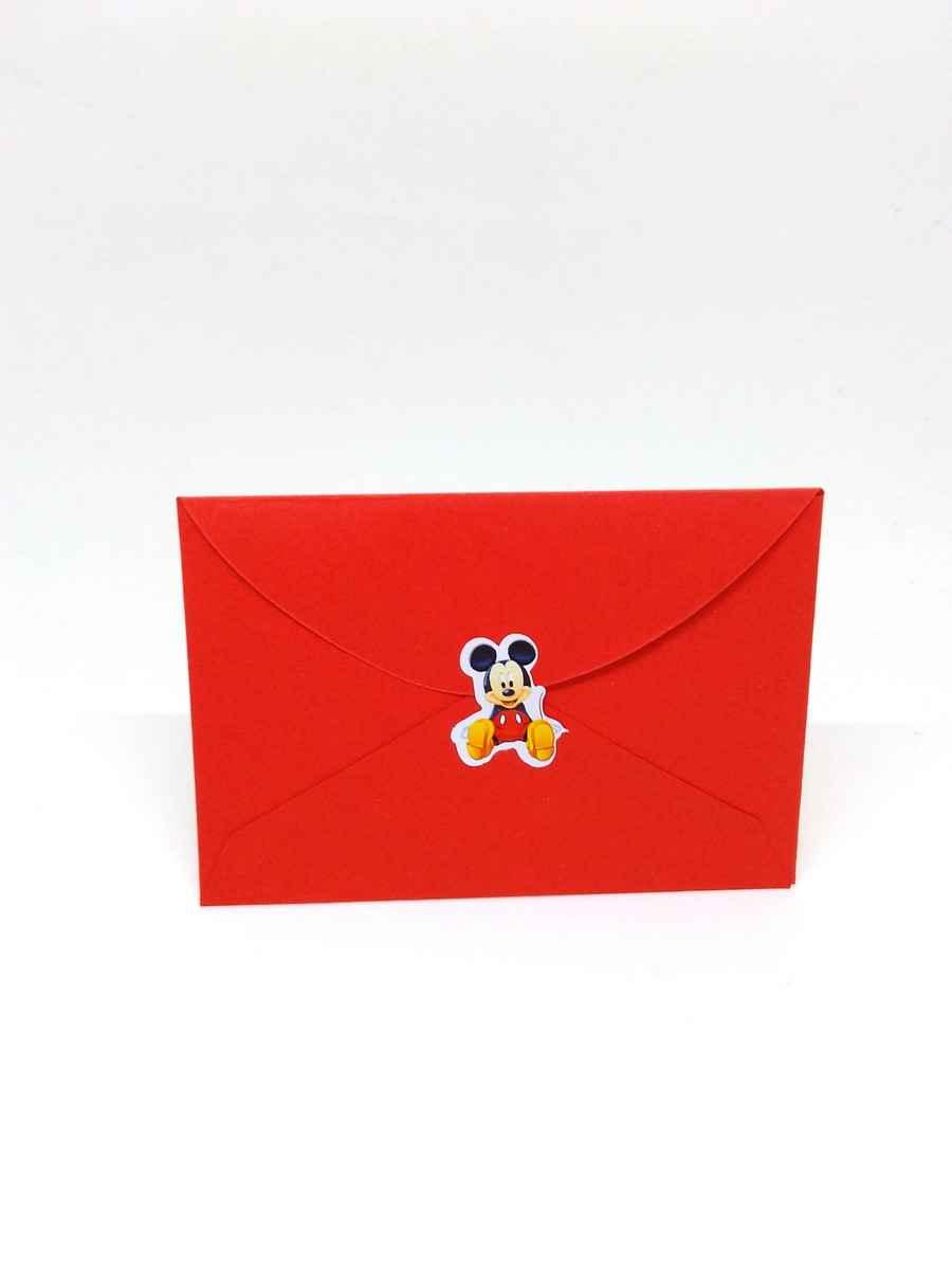 Envelope com fecho adesivo personalizado