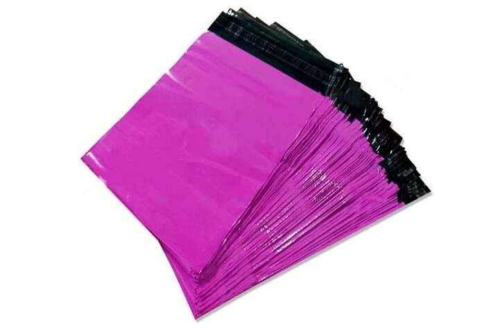 Envelope com fita adesiva personalizada