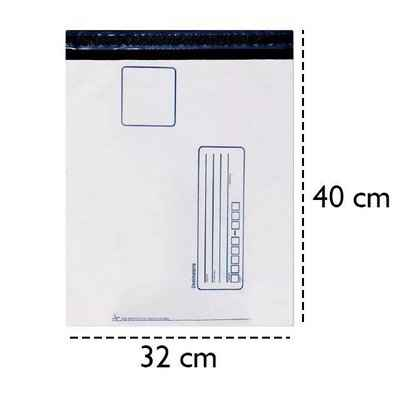 Envelope com fitas adesivas impresso
