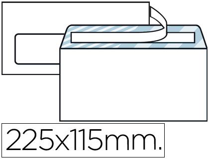 Envelope com janela a esquerda