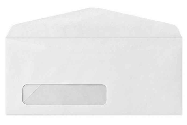 Envelope com janela adesiva