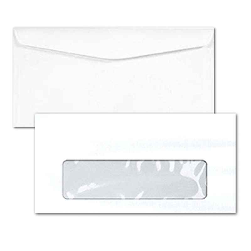 Envelope com janela para mala direta
