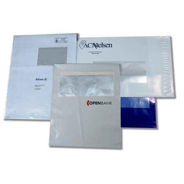 Envelope com janela personalizado