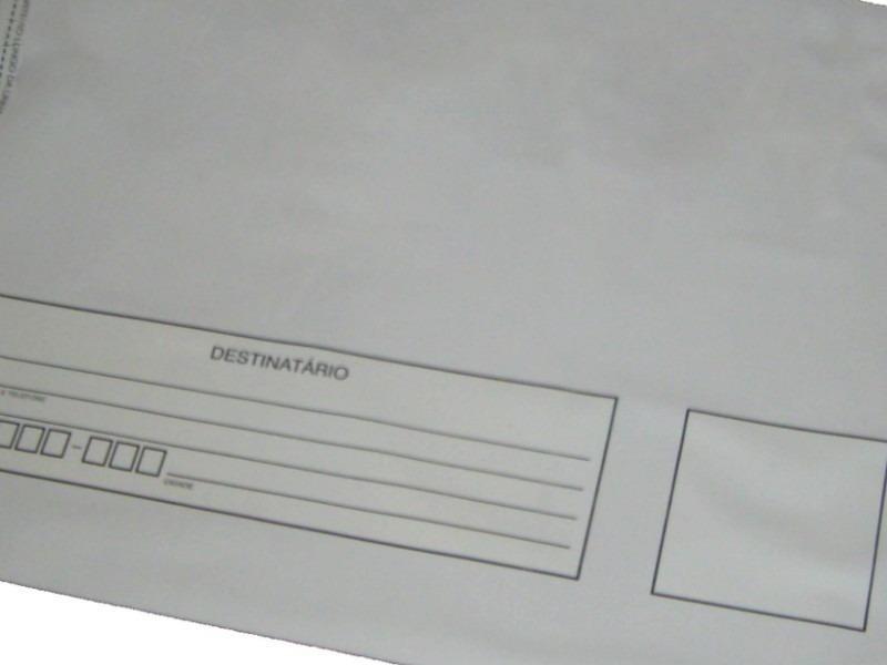 Envelope correios com adesivo