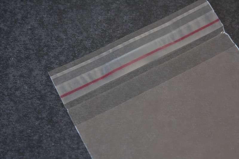 Envelope de aba adesiva