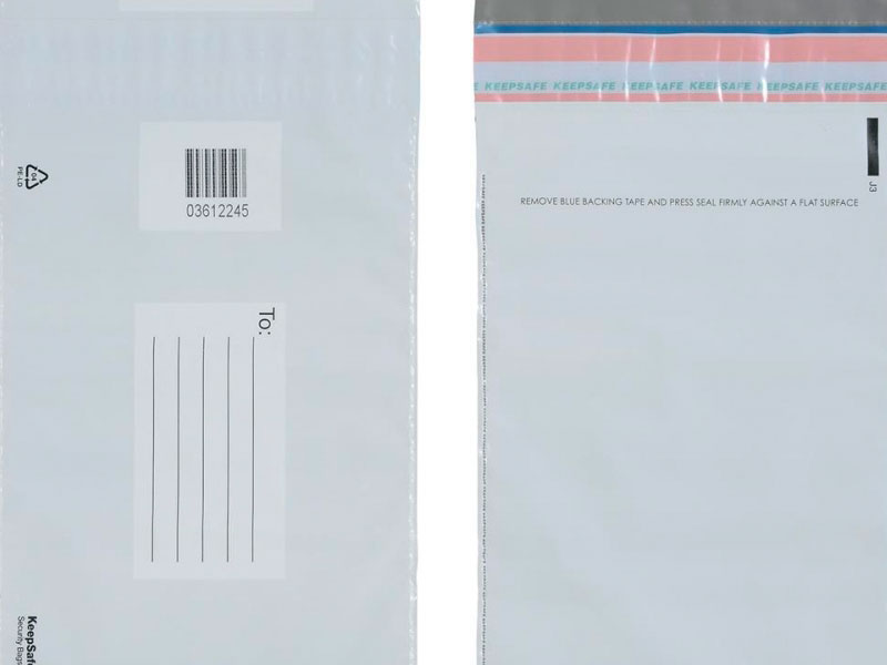 Envelope de adesivo para correspondência interna