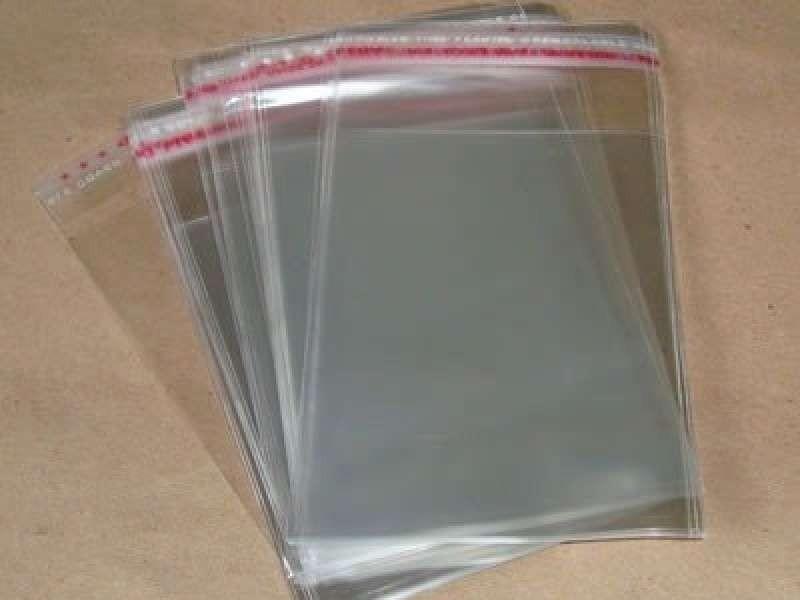 Envelope de plástico adesivado
