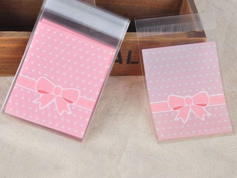 Envelope de plástico adesivado dentro