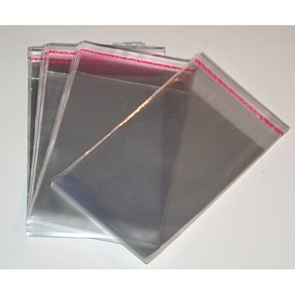 Envelope de plástico adesivo
