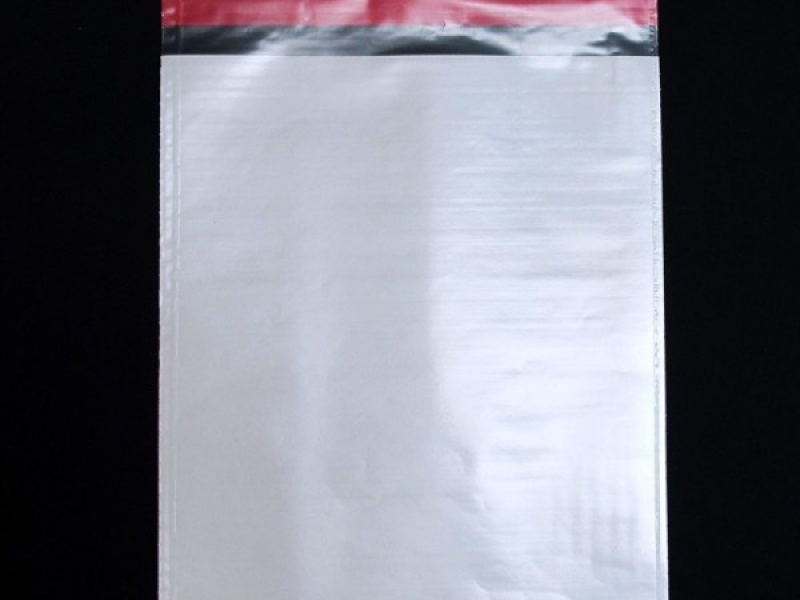 Envelope de plástico com aba adesiva impresso