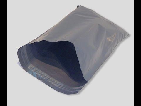 Envelope de plástico de correio
