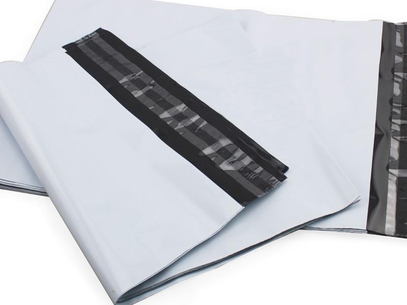 Envelope de plástico seguro com lacre
