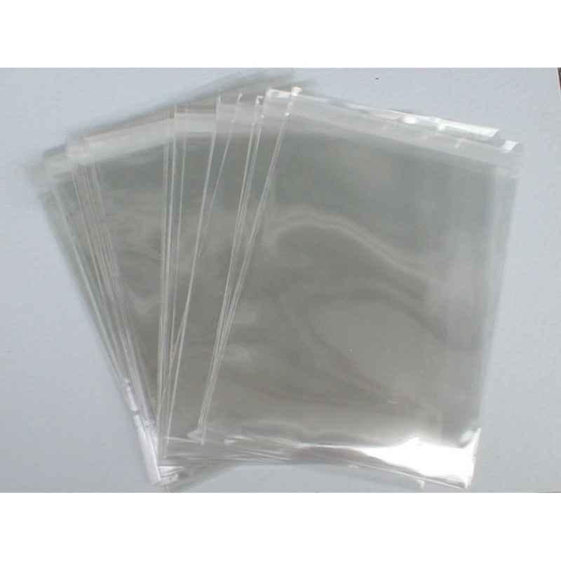 Envelope de plástico transparente