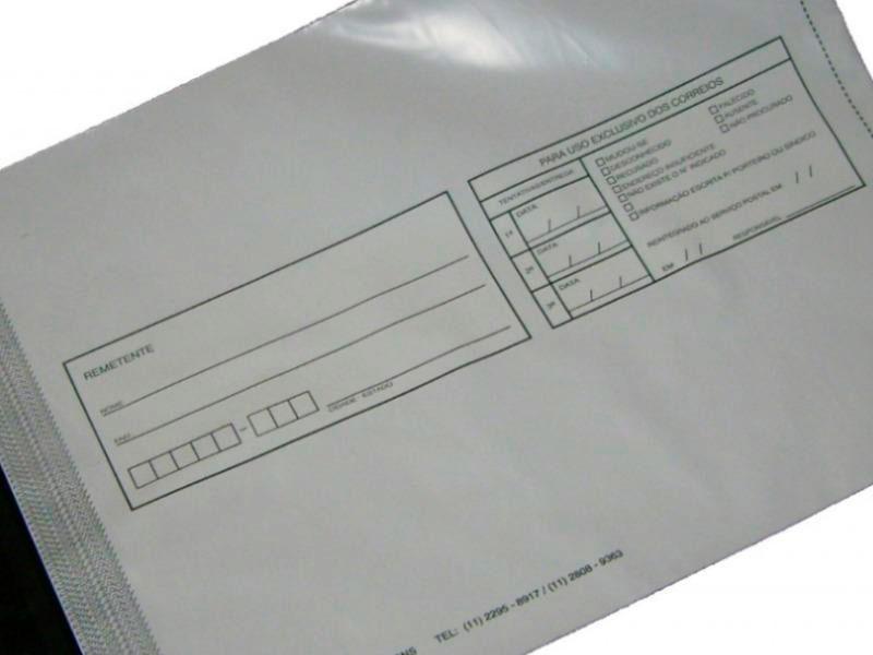 Envelope de plásticos tipo void