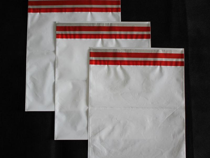 Envelope de saco transparente com aba adesiva