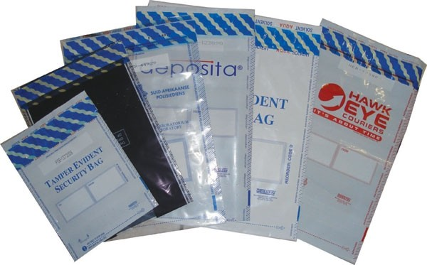Envelope de saco transparente com adesivo