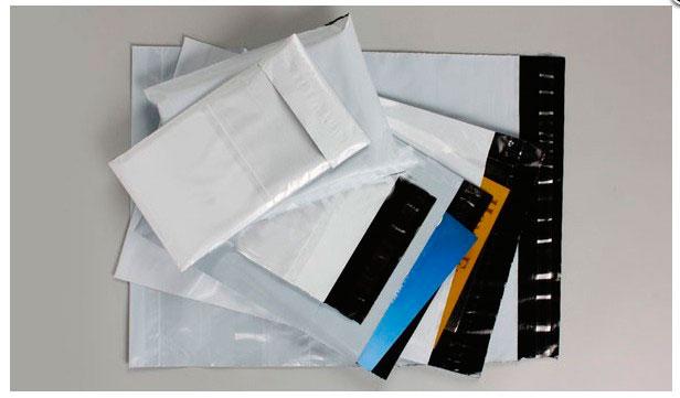 Envelope de segurança com aba adesiva