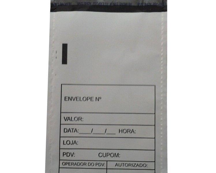 Envelope de segurança inviolável para cartão