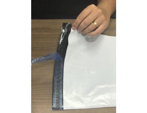 Envelope de segurança inviolável para documento