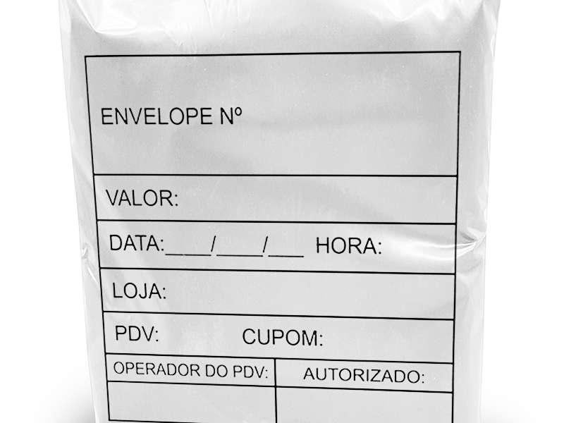 Envelope de segurança inviolável para e commerce