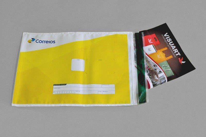 Envelope de segurança inviolável personalizado