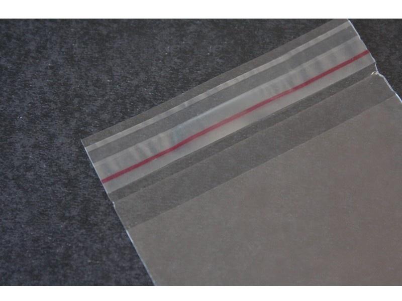 Envelope de segurança transparente