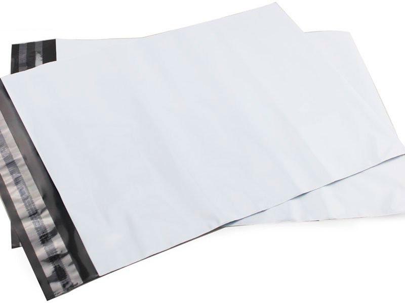 Envelope em plástico de segurança