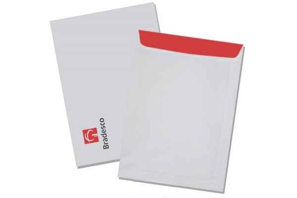 Envelope impresso especial