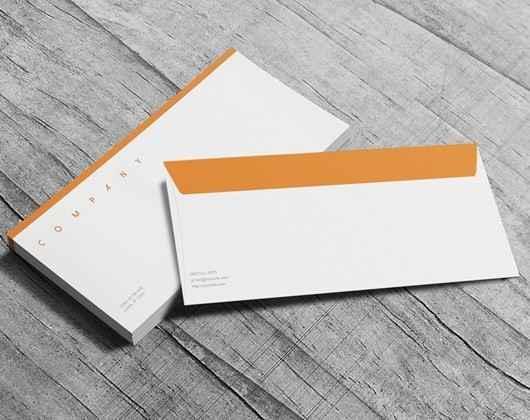 Envelope impresso personalizado