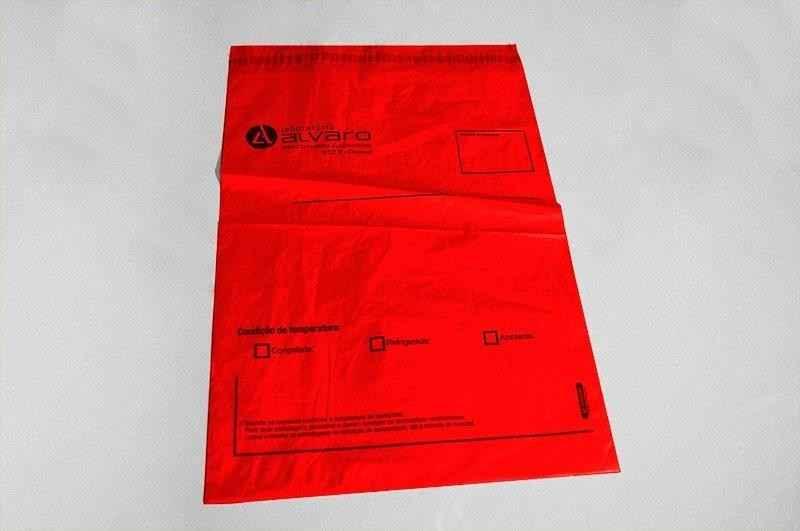 Envelope para entrega de exame