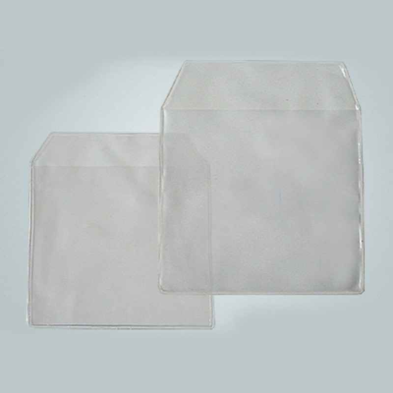 Envelope plástico com aba