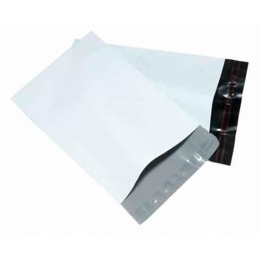 Envelope plástico com aba colante