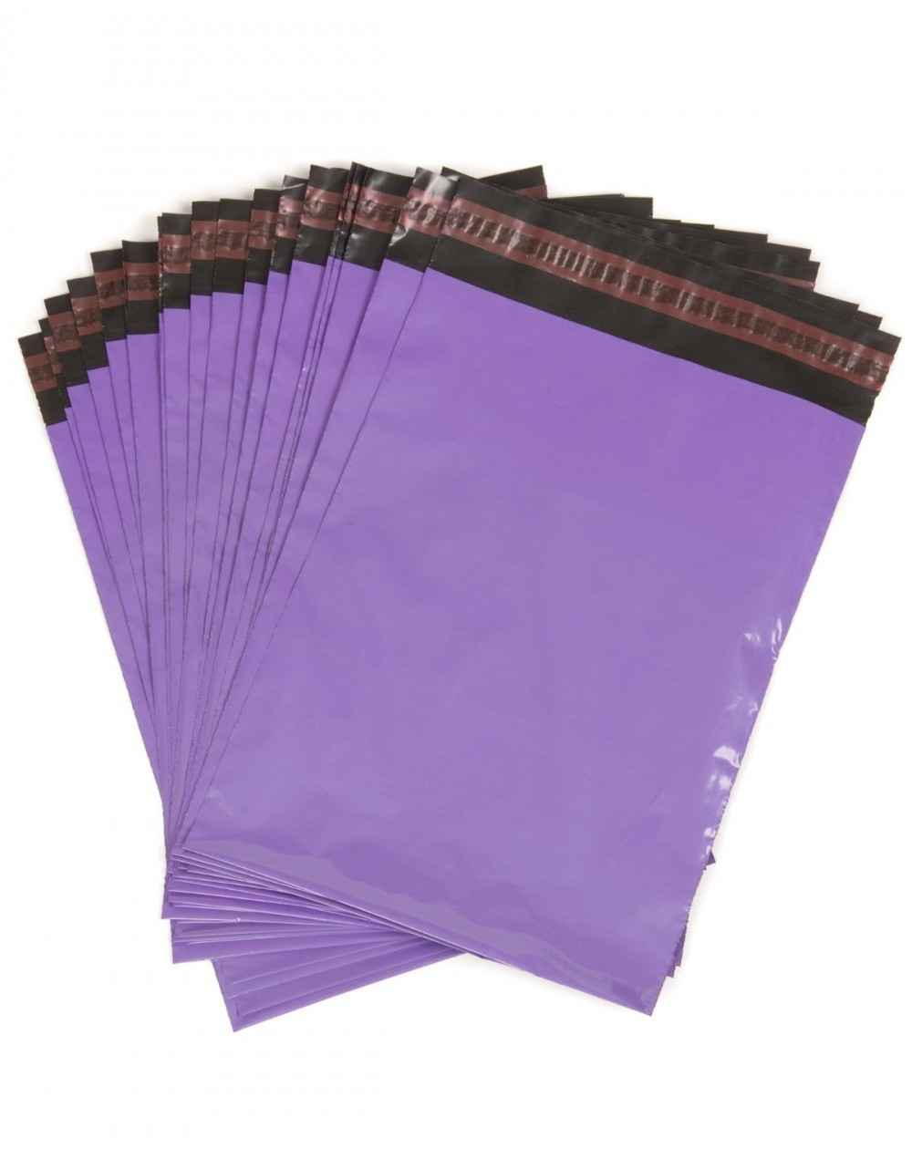 Envelope plástico com adesivo void