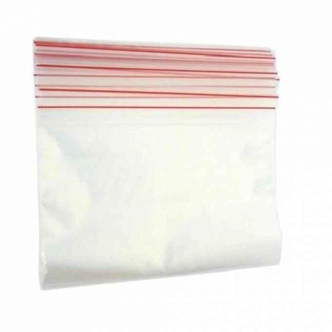 Envelope plástico com fecho