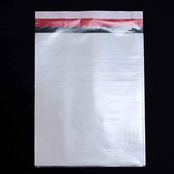 Envelope plástico com fita adesiva personalizado