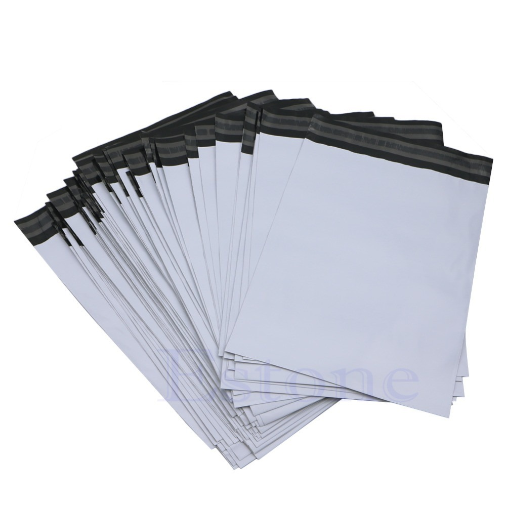 Envelope plástico com lacre de segurança