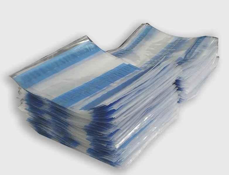 Envelope plástico para nota fiscal