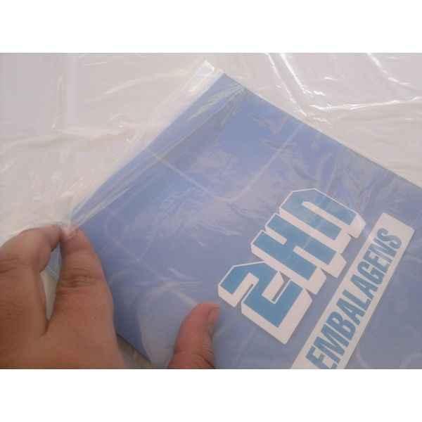 Envelope plástico para revista